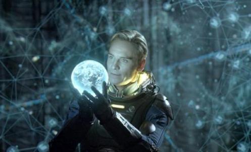 Prometheus - David (Michael Fassbender)